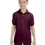 Youth 5.2 oz., 50/50 EcoSmart® Jersey Knit Polo