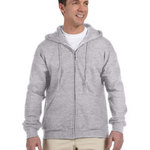 Adult DryBlend® Adult 9 oz., 50/50 Full-Zip Hood