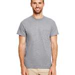 DryBlend® 5.6 oz., 50/50 Pocket T-Shirt