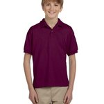 DryBlend® Youth 5.6 oz., 50/50 Jersey Polo