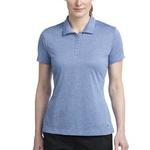 Ladies Dri FIT Heather Polo