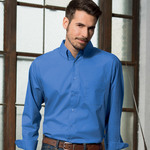 Men's Blend Performance Poplin Woven Shirt