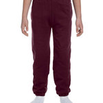 Youth 9.5 oz., 50/50 Super Sweats® NuBlend® Fleece Pocketed Sweatpants