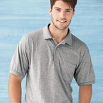 DryBlend Jersey Sport Shirt with a Pocket