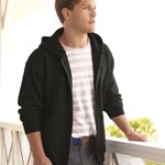 PrintProXP Ultimate Cotton Full-Zip Hooded Sweatshirt