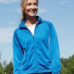 Ladies' Brushed Tricot Medalist Jacket