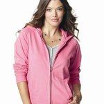 Ladies' French Terry Full-Zip Hooded Sweatshirt