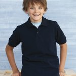 Sport DryBlend Youth Pique Sport Shirt