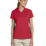 Dri-POWER® SPORT Ladies' 4.1 oz., 100% Polyester Micro Pointelle Mesh Moisture-Wicking Polo