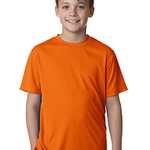 YOUTH 4 OZ COOL DRY SHORT SLEEVE TEE