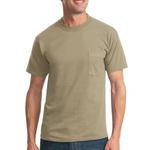 Dri Power ® 50/50 Cotton/Poly Pocket T Shirt