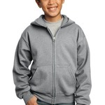 Youth Core Fleece Full Zip Hooded Sweatshirt