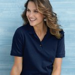Ladies' Ultra Cotton Pique Knit Sport Shirt