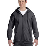 Adult 9.7 oz. Ultimate Cotton® 90/10 Full-Zip Hood