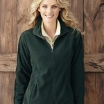 Ladies' Moisture Resistant Micro Fleece Jacket
