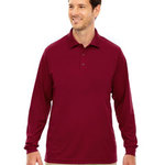 Men's Pinnacle Performance Long-Sleeve Piqué Polo