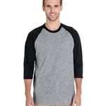 Heavy Cotton ¾-Sleeve Raglan