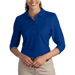 Ladies Silk Touch™ 3/4 Sleeve Polo