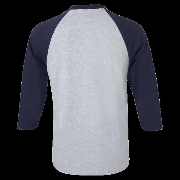 ¾ Sleeve Raglan Baseball T-Shirt - Custom T Shirts Printing   DLV ...